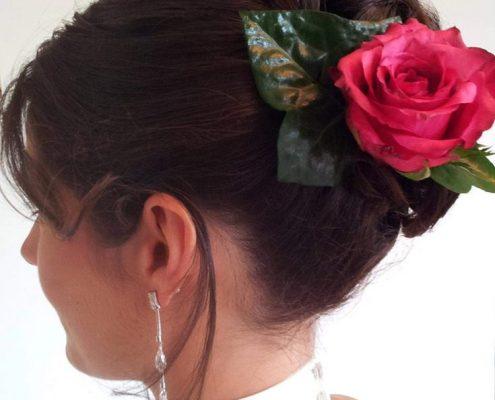 Bruidskapsels voorbeelden - bruid Bruidskapsel bruidsmake-up