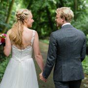 Bruiloft - Bruidskapsels half opgestoken & kort haar