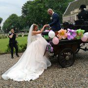 Bruiloft Eemnes - Bruidskapsels met sluier