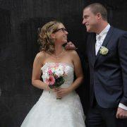 Bruidskapsels half opgestoken & kort haar